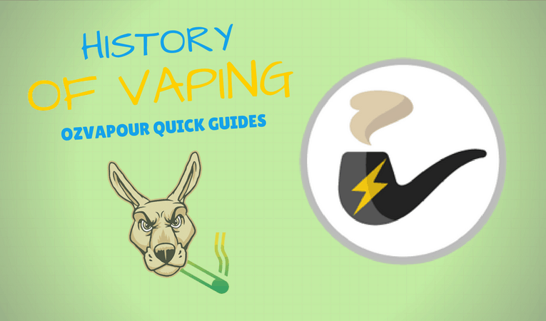 History of electronic cigarettes