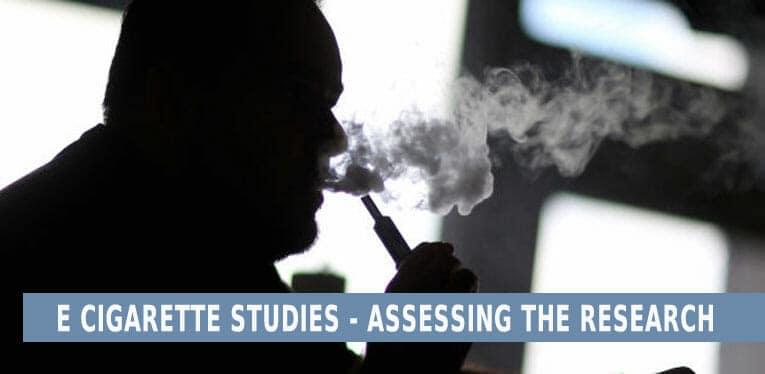 E Cigarette health studies