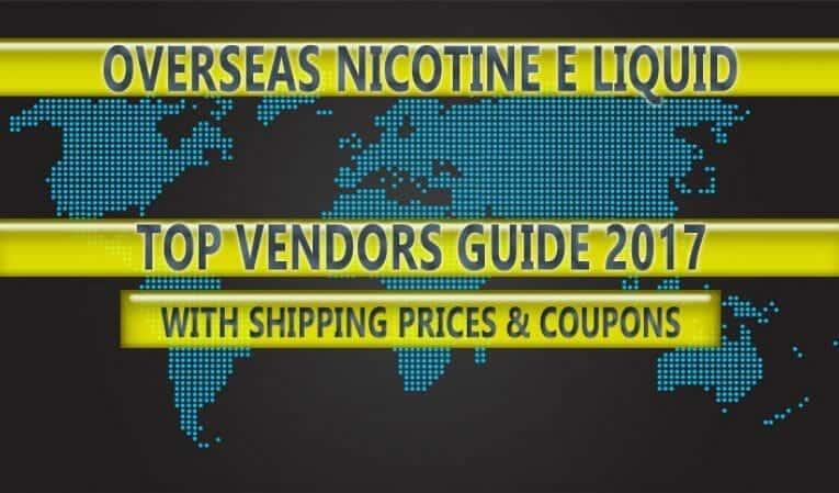 Top Nicotine E-Liquid Retailers