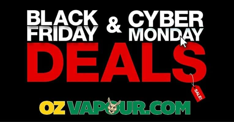 Black Friday cyber Monday Vape Deals