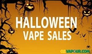 Halloween Vaping Sales