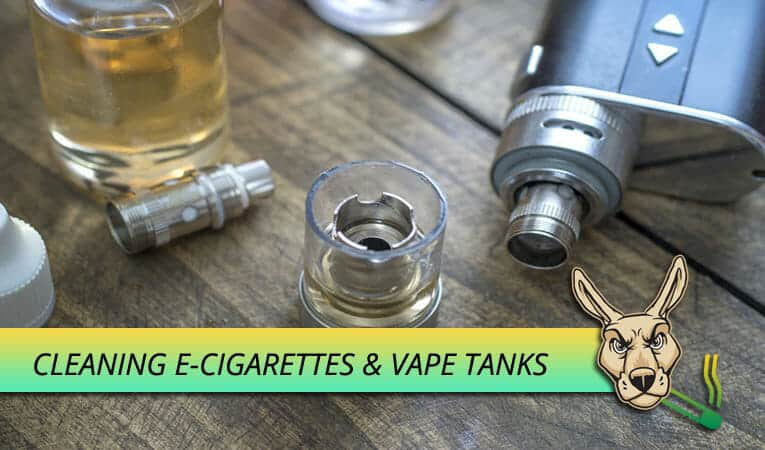 Cleaning Your E-Cigarette & Vape Tank