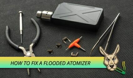 Fix a Flooded Atomizer
