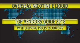 Australia's Top Nicotine E Liquid Vendor Guide – 2018